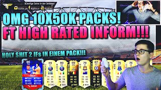 FIFA 16 PACK OPENING DEUTSCH  FIFA 16 ULTIMATE TEAM  10x50K PACKS HOLY SHIT HIGH RATED INFORM