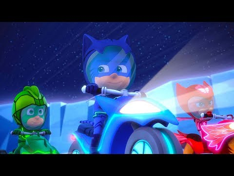 PJ Masks Episodes Season 2 ⚡️Race to the Moon / Race up Mystery Mountain 🌋Cartoons for Kids