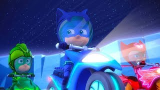 PJ Masks Full Episodes Season 2 ⚡️Race to the Moon / Race up Mystery Mountain 🌋Cartoons for Kids