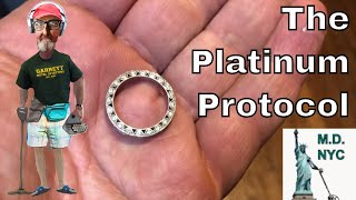 Metal Detecting Treasure Found: Exquisite Platinum Ring Found On A New York Beach