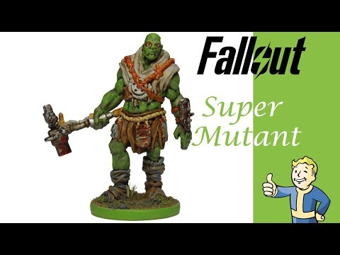 Fallout Painting: Super Mutant