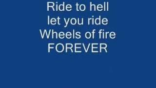 Wheels of fire (with lyrics)