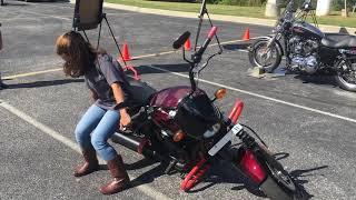 Lifting A Training A Bike