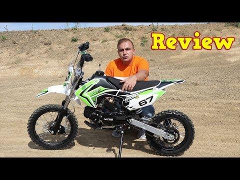 Full Review of 110ccm Pit Bike Strom V2 Cross