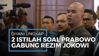 Ahmad Dhani Ungkapkan Dua Istilah terkait Bergabungnya Prabowo di Pemerintahan