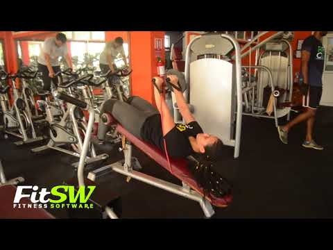 Weighted Sit-Ups with Band: Abs, Core Exercise Demo How-to