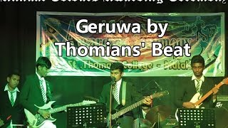 Geruwa Song by Thomians' Beat at Annual Colours Awarding Ceremony