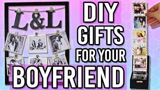 DIY GIFT IDEAS FOR YOUR BOYFRIEND/ HUSBAND! Thoughtful DIY Gifts for your Boyfriend