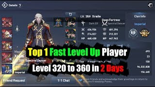Lineage 2 Revolution Top 1 Fast Level Up Player & Top 10 Reviews