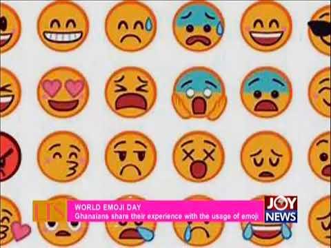 World Emoji Day - Let's Talk Showbiz on JoyNews (17-7-18)