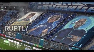 Russia: Zenit fans display