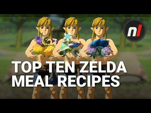 Video Top Ten Best Meal Recipes in The Legend of Zelda: Breath of the Wild