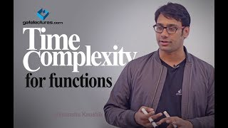 Design and Analysis of Algorithms 05 How to find Time Complexity of a program Examples part 1