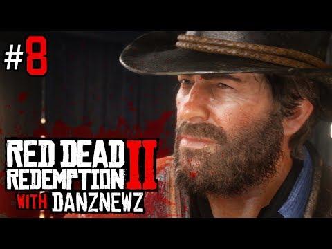 WELCOME TO VALENTINE | Red Dead Redemption 2 with Danz Newz - Part 8