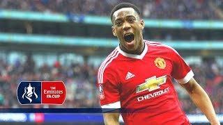 All Goals  Manchester Uniteds Road To 2016 Emirates FA Cup Final  Goals & Highlights