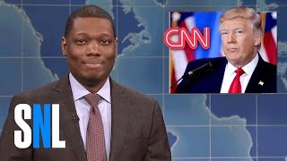 Weekend Update on Russia Blackmailing Donald Trump - SNL