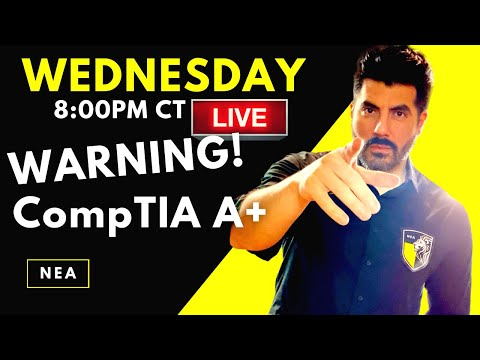 Don't get CompTIA A+ IN 2021 [WARNING] Here is Why ... - YouTube