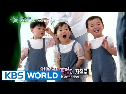 Song Ilkoook and his sons on a date (Entertainment Weekly / 2015.05.15)