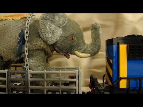 Elephant's Escape - A Lego Stop Motion Animation