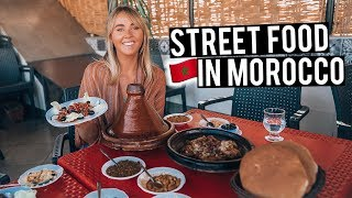 We Tried Moroccan Street Food In Marrakech