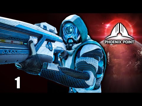 Phoenix Point 👾 Legend Ironman #1 - Full Campaign Gameplay