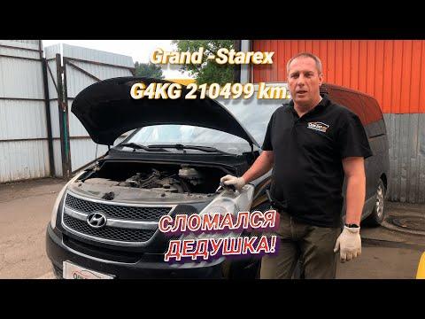 Hyundai Grand Starex 2.4 бензин G4KG стук и задиры в цилиндрах