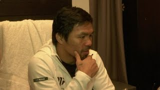 Pacquiao preps for Vegas bout