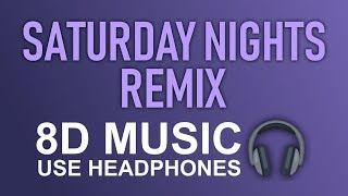 Khalid   Saturday Nights REMIX (8D AUDIO) 🎧 Ft. Kane Brown