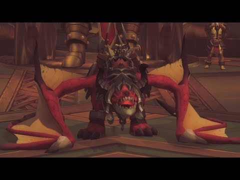 The Story of Battlelord'S Bloodthirsty War Wyrm - Patch 7.2 Warrior Class Mount