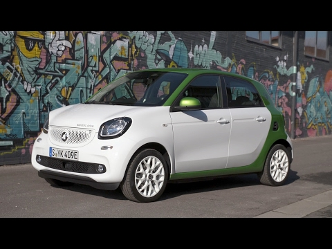 2017 Smart Forfour Electric Drive Perfect City Car Top Viral Videos