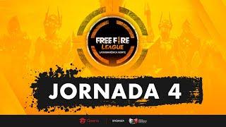 Jornada 4 | Free Fire League LAN | Mapa 6