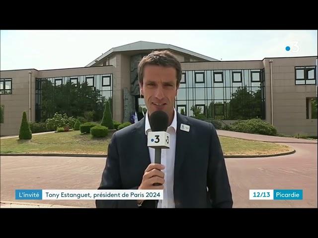#TerredeJeux2024 : Tony Estanguet en déplacement dans l'Oise
