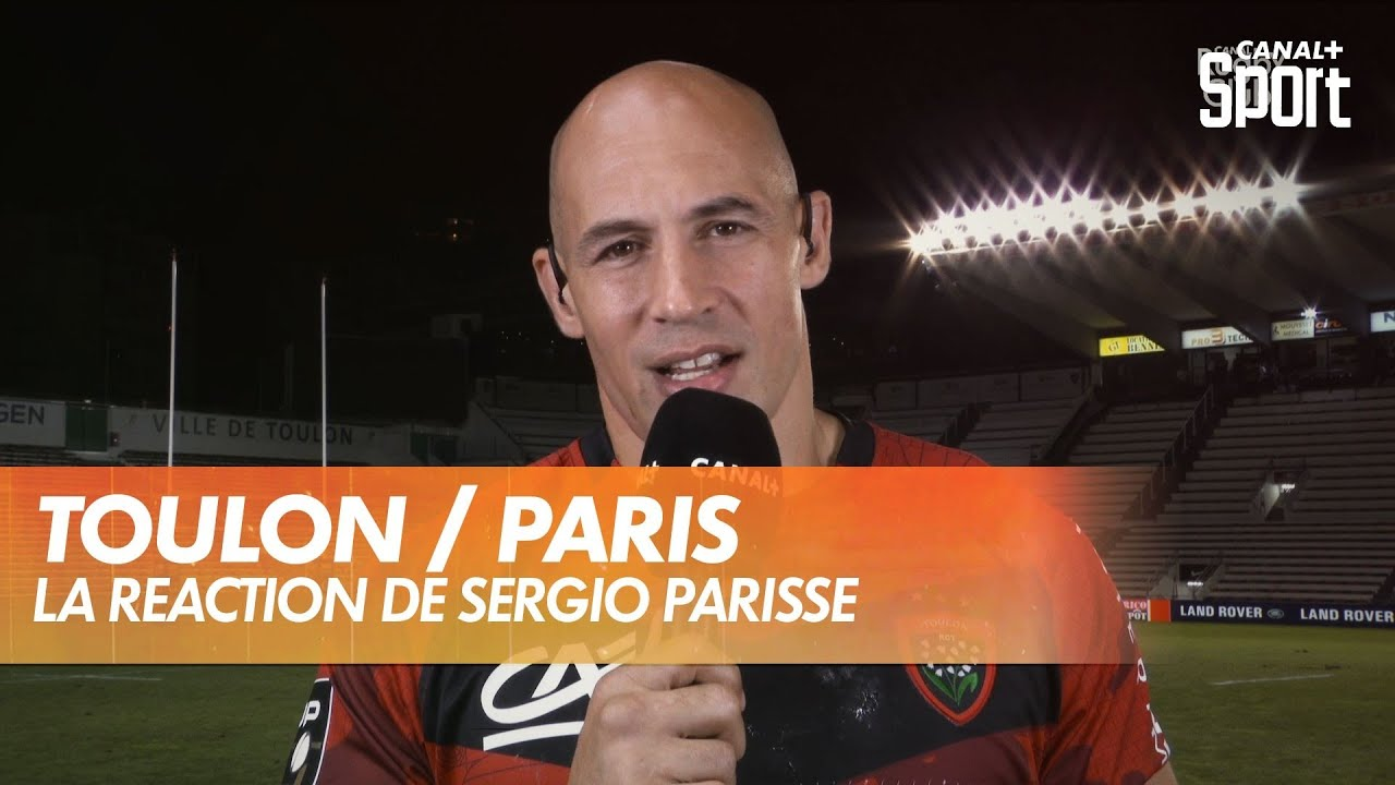 La réaction de Sergio Parisse après Toulon / Paris