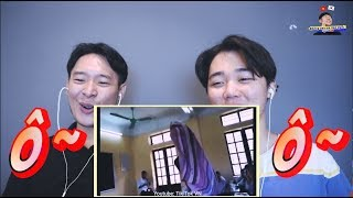 (Reaction!) Năng lực của học sinh Việt Nam bùng nổ  !!! | Những anh em Hàn Quốc한국남매들
