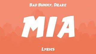 Gambar cover Bad Bunny, Drake - MIA (Lyrics/Letras)