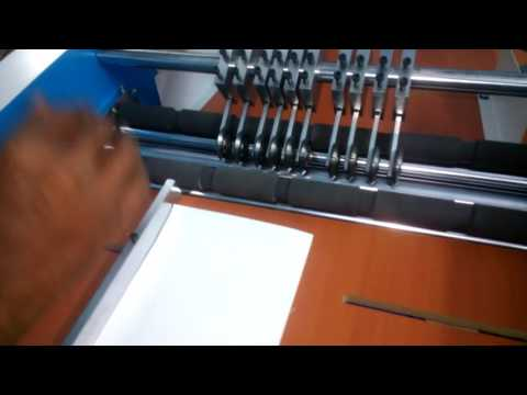 Creasing Perforating Machine