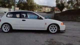 Download Video Honda Civic EG6-R CS (B18C) @ Sintra MP3 3GP MP4
