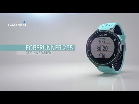 Forerunner 235: Getting Started with Your Wrist-based HR Running Watch