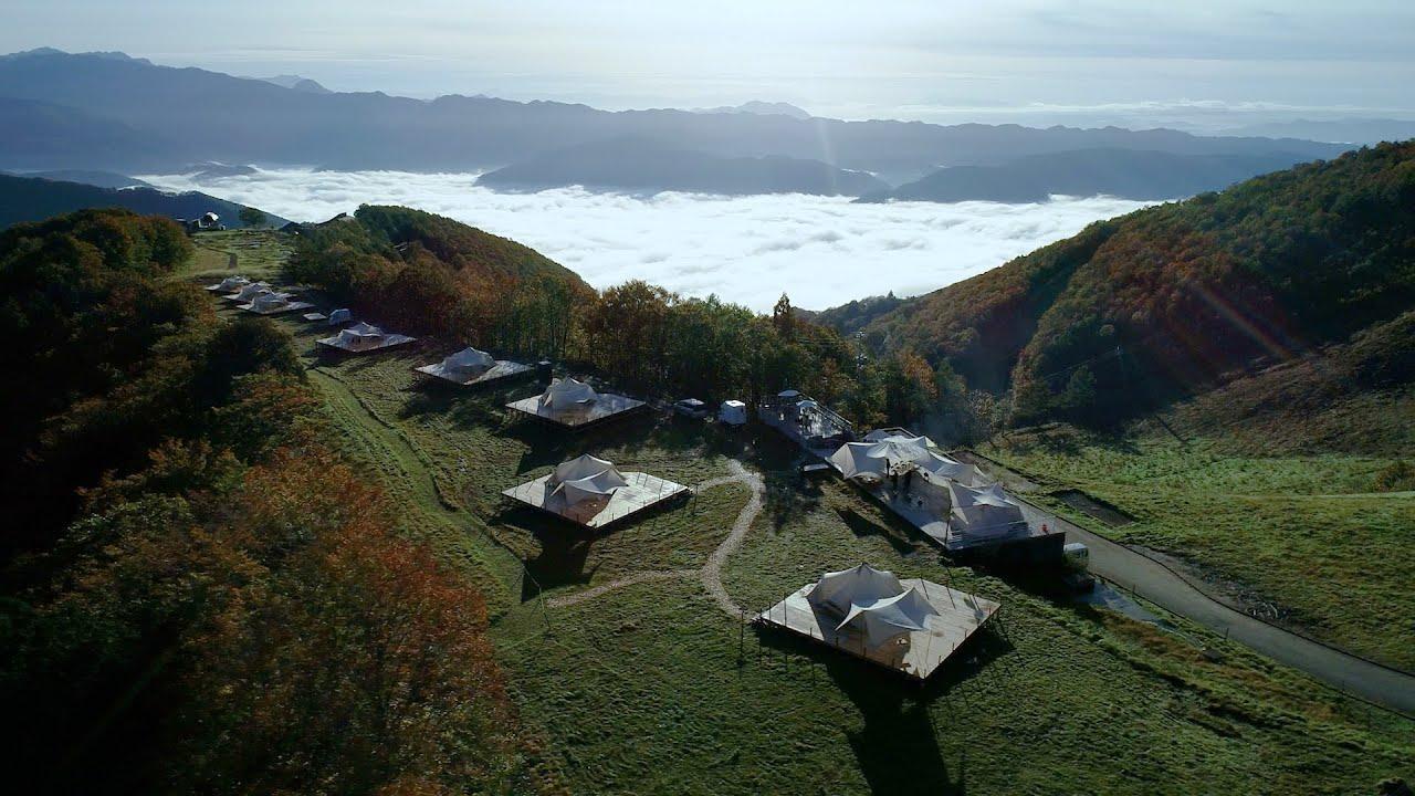 「Snow Peak FIELD SUITE HAKUBA KITAONE KOGEN」が叶える、新しいラグジュアリーの形。自然を享受できる喜びに満ちている。