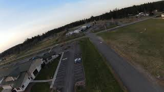 DJI fpv chasing RC plane