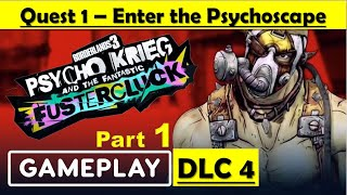 Borderlands 3 DLC 4 Psycho Krieg and the Fantastic Fustercluck - Enter the Psychoscape - Part 1