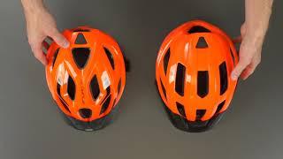 Kask rowerowy marki ABUS - model Macator oraz Aduro 2.1