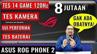 Asus ROG Phone II RAM-8GB ROM-128GB SNAPDRAGON-855 GRANSI RESMI ASUS INDONESIA 1 TAHUN
