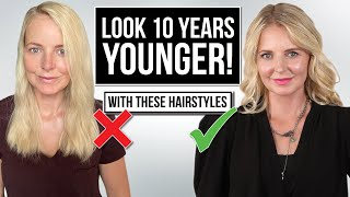 5 Ways to Style Your Hair to Look *10 Years YOUNGER!*