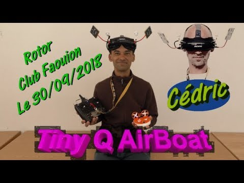 Tiny Q AirBoat RC \