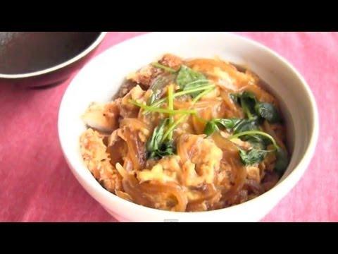 How to Make Katsudon (Recipe) カツ丼の作り方 (レシピ)