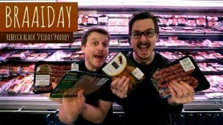 "Braaiday (Rebecca Black ""Friday"" Parody)   Derick Watts & The Sunday Blues"
