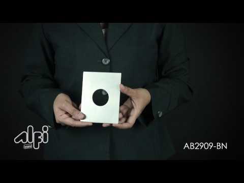 Video for Polished Chrome Modern Square 3 Way Shower Diverter
