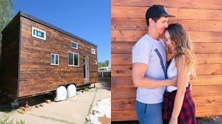 MOVING INTO OUR OFF GRID TINY HOUSE!
