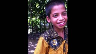 talented Bengali boy speaking English